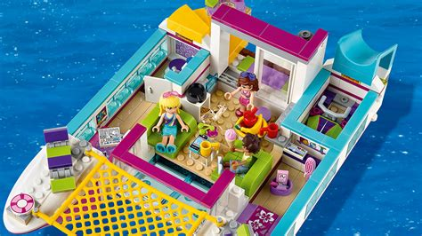 Catamaran Lego Friends 41317 sunshine catamaran products lego 174 friends