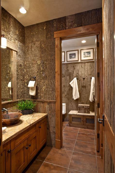 Bathroom Ideas Rustic by 25 Rustic Bathroom Design Ideas Decoration