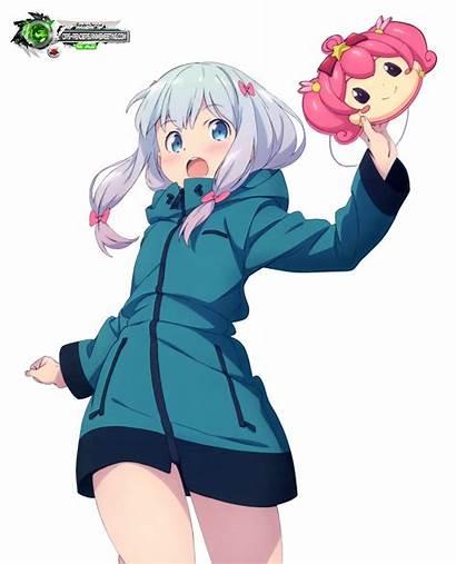 Manga Ero Sagiri Kawaii Sensei Izumi Render