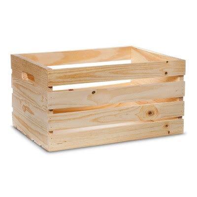 hand  modern wooden crate pine target