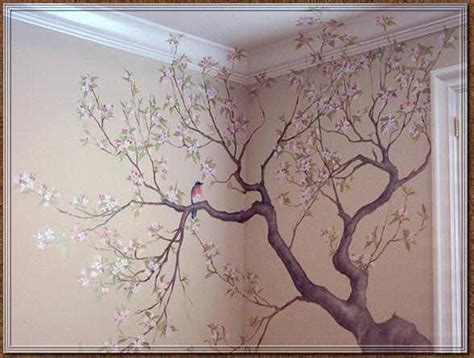 how to paint a mural on a bedroom wall 17 best ideas about tree wall painting on tree