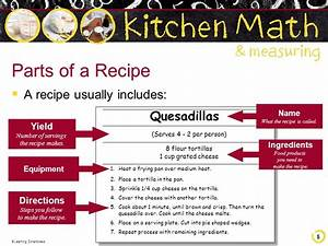 Kitchen Math & Measuring - ppt video online download