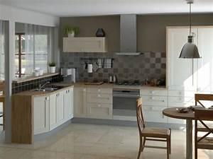 Prix Cuisine équipée : image cuisine prix cuisine bois massif cbel cuisines ~ Nature-et-papiers.com Idées de Décoration