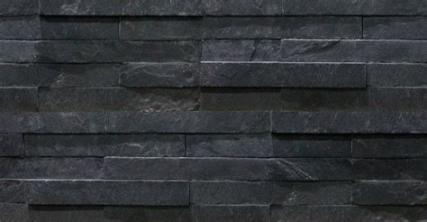 slate panels black slate split face mosaic tiles 600x150 slate cladding stone cladding by rock panels www