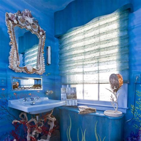 under the sea bathroom decor with unique sink your dream