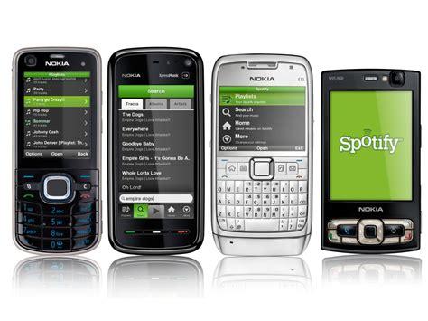 nokia gets spotify mobile phone app techradar