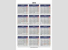 Calendario Marbaro.Calendario 2019 Marbaro Calendarios Hd