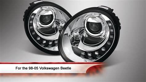 98 05 volkswagen beetle drl projector headlights