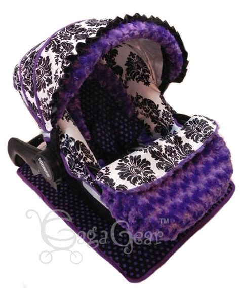 purple car seat canopy purple cars baby gear and car seat covers on