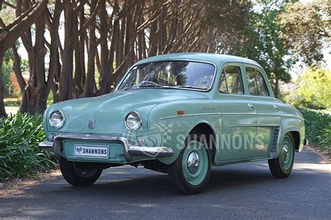 Sold: Renault Dauphine Sedan Auctions - Lot 2 - Shannons