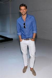 25+ best ideas about Mens White Jeans on Pinterest | Menu0026#39;s dressy casual Adam gallagher and ...