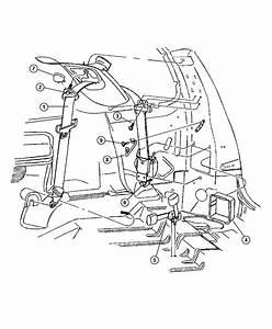 Dodge Durango Seat Belt  Rear Outer   T5   Trim   All Trim Codes  Color   Sandstone