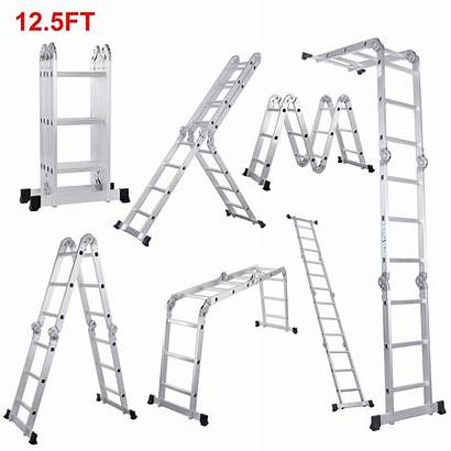 Ladder Extension Ladders Folding Multi Extendable Types