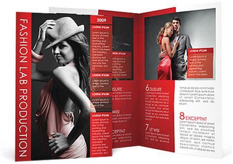 fashion brochure template design id