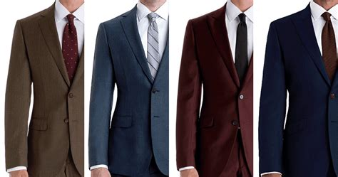 suit colors what to to match your wardrobe black