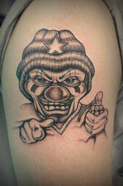 Tatuajes De Payasos Tristes