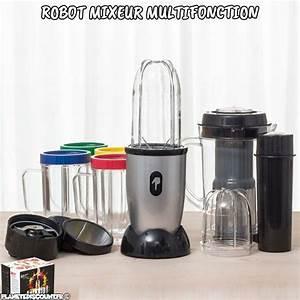 Robot Mixeur Multifonction : robot mixeur achat robot mixeur multifonction one bullet ~ Mglfilm.com Idées de Décoration