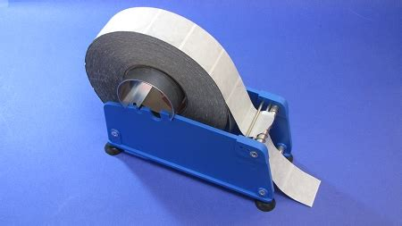 wafer tab seal label dispenser