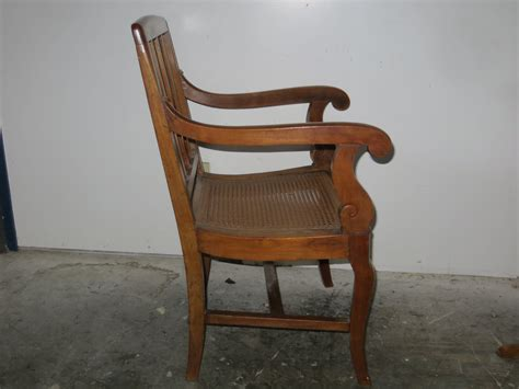 Chair Caning by Seat 19th C Regency Style Chair Omero Home