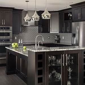 Best 25 black kitchen cabinets ideas on pinterest black for Kitchen cabinet trends 2018 combined with papier imprime