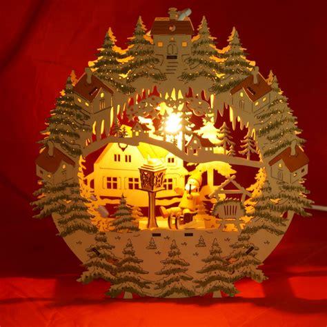 Weihnachtsdeko Fenster Beleuchtet by Fensterbild Weihnachten Beleuchtet Quot Weihnachtsmann Auf