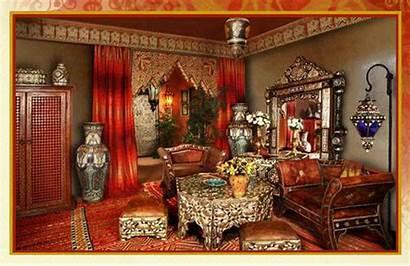 Moroccan Furniture Decor Middle Living Morocco Bohemian