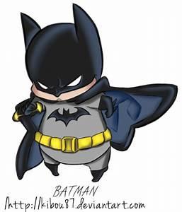 Chibi Batman by TsukishiroMitsuki on DeviantArt