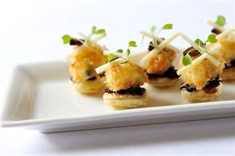 mini canape ideas tart canapé recipe great chefs