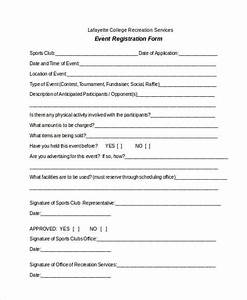 nice soccer registration form template ideas example With event booking form template word
