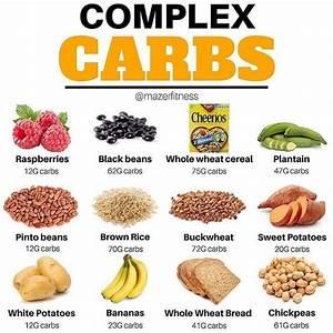 Complex Carbs Post Below By  Mazerfitness
