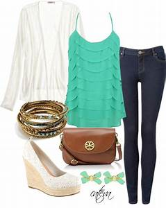 """""""Cute Spring Outfit"""" by cateva liked on Polyvore 