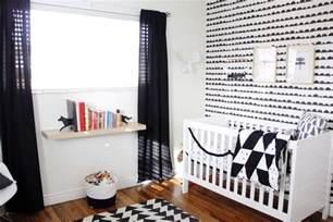 Mini Crib Bedding For Boys by Finn S Black And White Woodland Nursery Project Nursery