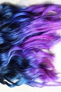 Blau Auf M Bau : ira vampira s blog directions auf braunem haar blau lila dip dye ~ Frokenaadalensverden.com Haus und Dekorationen