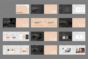 This 24 Page Set Of Indesign Brand Guidelines Is The