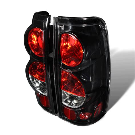 02 silverado tail lights 99 02 chevy silverado euro altezza tail lights glossy black