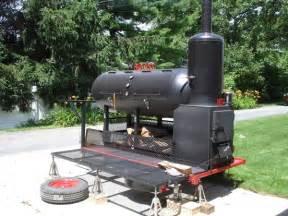 Custom BBQ Smoker Grill Trailer