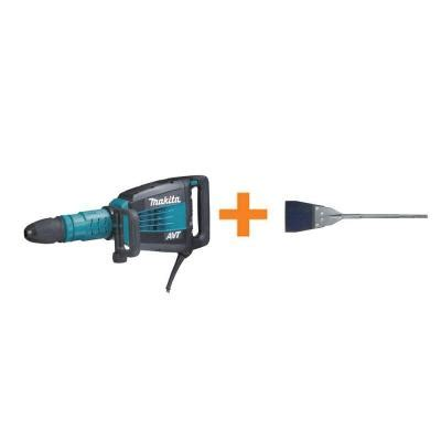 Makita Sds Max Floor Scraper by Makita 27 Lb Avt Sds Max Demolition Hammer With Free 6 In