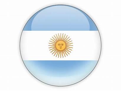 Argentina Icon Round Flag Diagram Progetti Wijnen