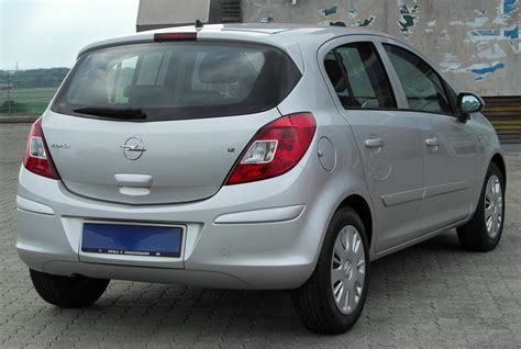 Opel Corsa 1 2 by Opel Corsa 1 2 2010 Technical Specifications Interior