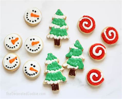decorated christmas cookies no fail cut out cookie and
