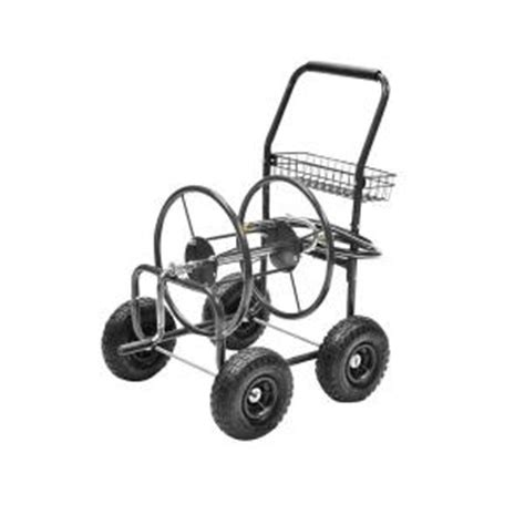precision 250 ft hose reel cart hr250 the home depot
