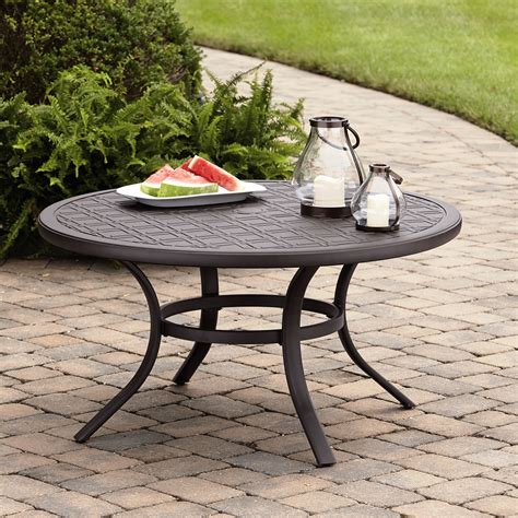 grand harbor 5 chat set table patio