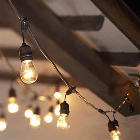how to string lights outside rent café lights edison light iowa wedding event lighting
