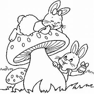 Coloriage De Paque : lapins de p ques coloriage lapins de p ques en ligne ~ Melissatoandfro.com Idées de Décoration