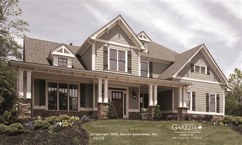 Garrell Associates, Inc.melbourne House Plan 05208, Front