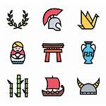 Culture Heritage Cultural Icon Clipart Vector Packs