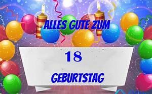 Geburtstagsbilder Zum 18 : alles gute zum 18 geburtstag bilder und spr che f r ~ A.2002-acura-tl-radio.info Haus und Dekorationen
