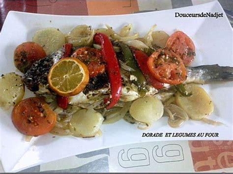dorade cuisine les meilleures recettes de dorade et légumes