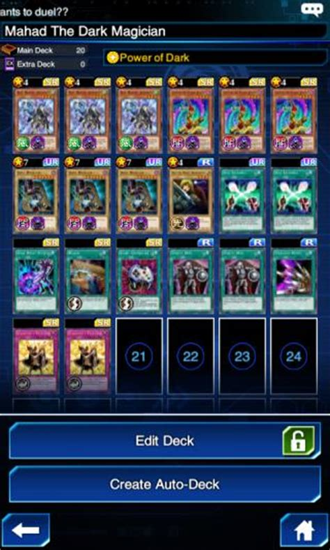 spellcaster structure deck duel links magician combo deck recipe yugioh duel links gamea