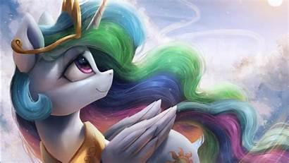 Pony Celestia 4k Princess 1366 Wallpapers